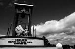 KETUPAT CITY - Large ketupat-shaped statues, landmarks of Kandangan of Hulu Sungai Selatan Regency, the Province of South Kalimantan.