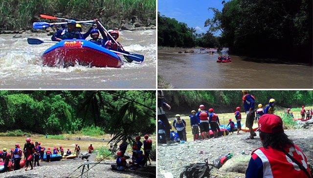 250 Peserta Arung Jeram Membanjiri Kali Progo
