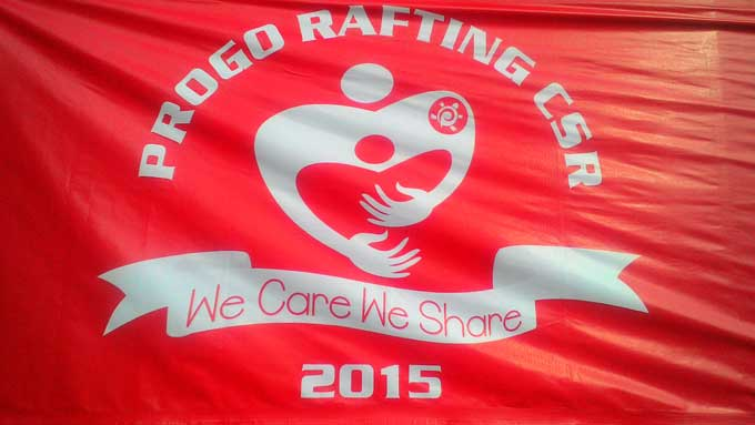 "17 Tahun Progo Rafting ""We Care We Share"""