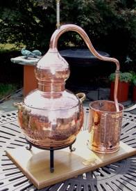 Alembic 7.5 liter still
