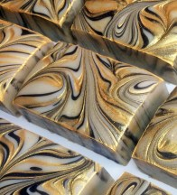Gift of the Magi, a swirled handcrafted soap by Magellan's Gift™