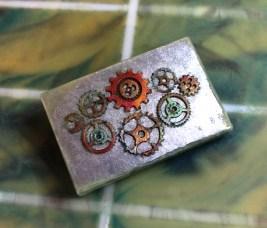 Mica primed steam-punk soap