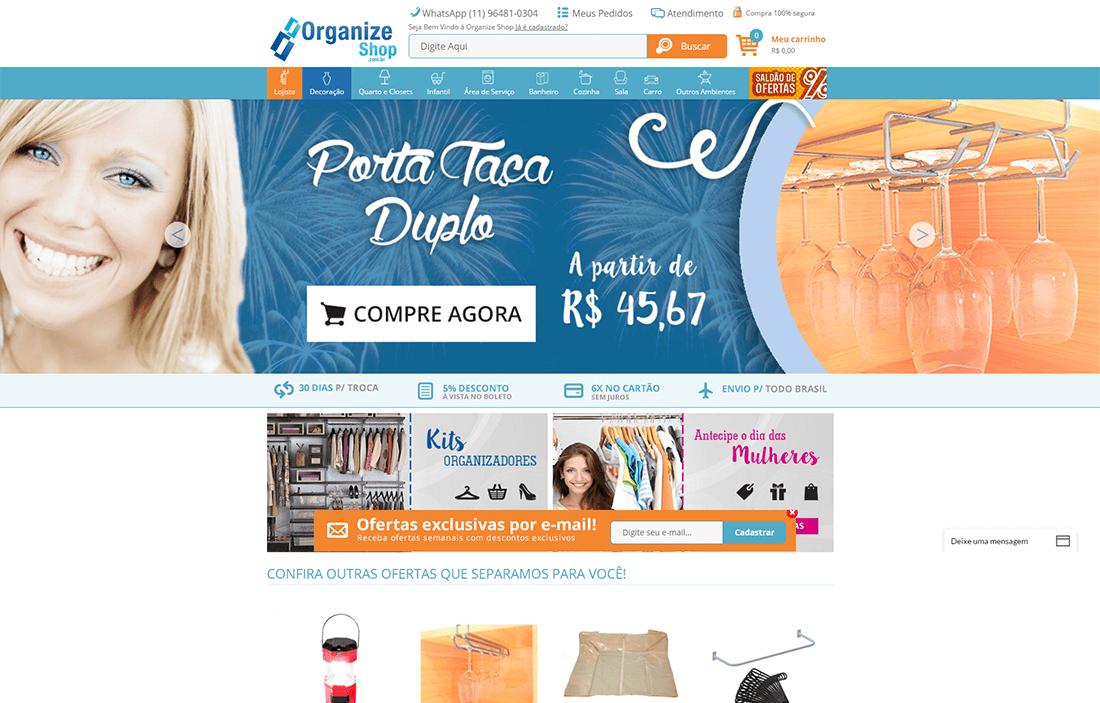 organize shop project