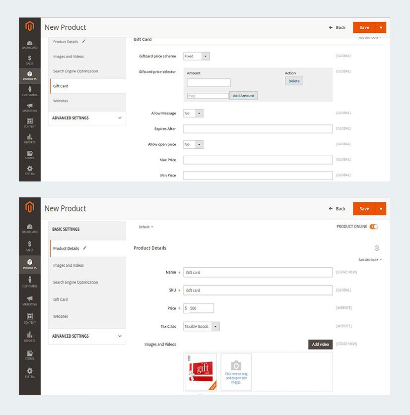 gift-card-extension