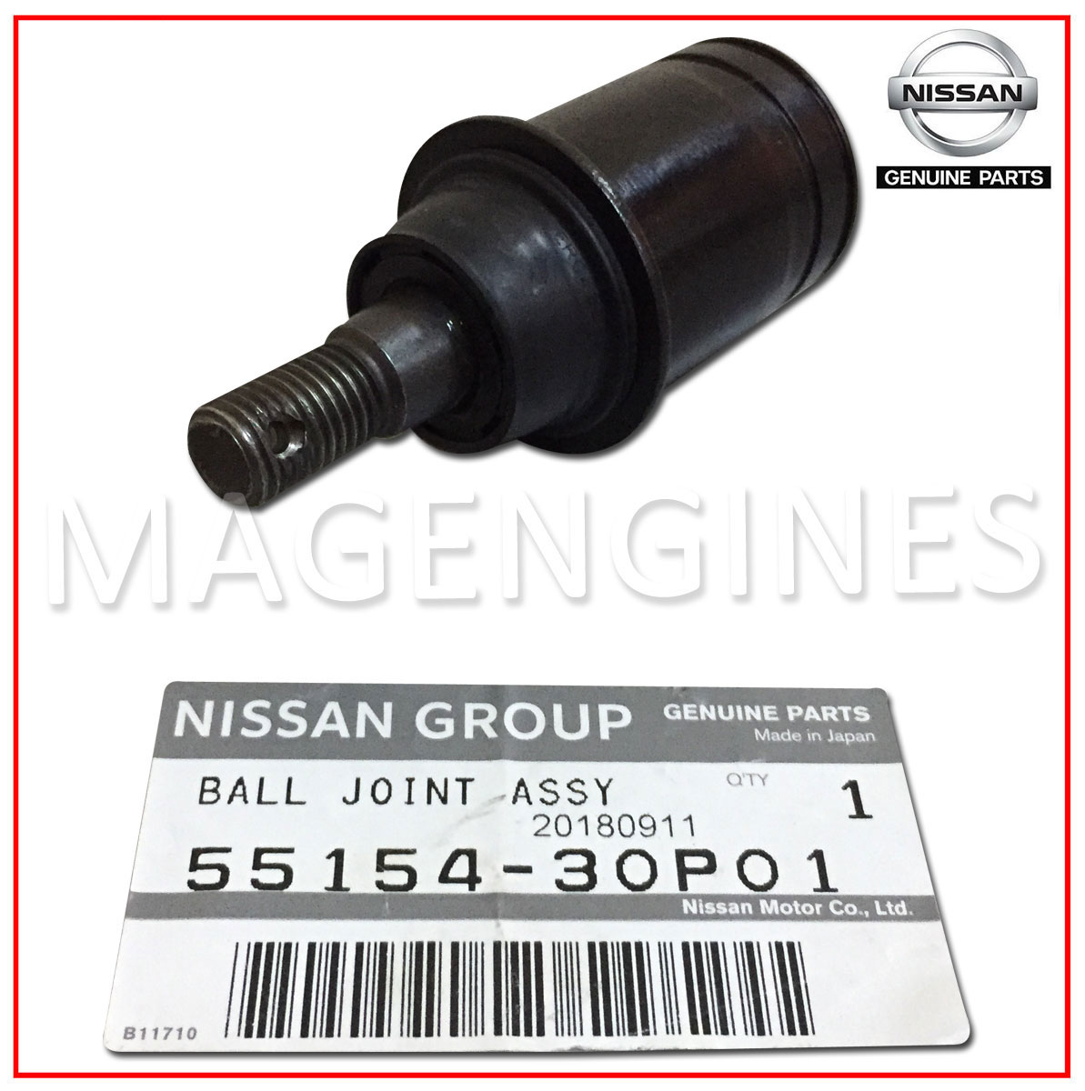hight resolution of ball joint nissan