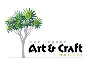 Canterbury Art & Craft Gallery logo. The Canterbury Art & Craft Gallery was the first iteration of Christchurch International Airport Company's New Zealand art & craft retail gallery store with a focus on the product of Canterbury artisans and craftspeople, that they established in the newly developed International Terminal building retail centre. Brands for New Zealand businesses, Christchurch.