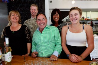 The Silver Cloud launch event crew. Duncan, Rachel, Isabella, Terry and Sue.