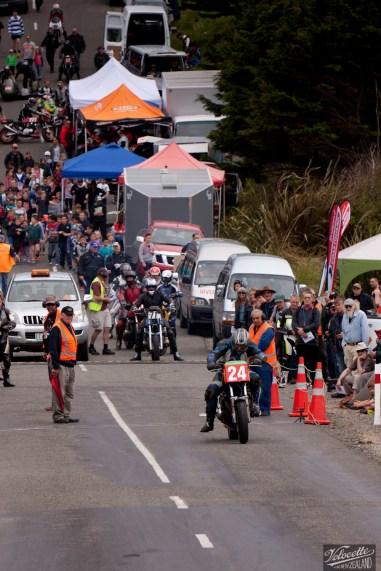 Bluff Hill, Bluff HIll Climb, Burt Munro Challenge, Chris McMeeken, Classic Pre '82, Motupohue, New Zealand, NZ Hill Climb Champs, Rider 24, Suzuki GS 1000