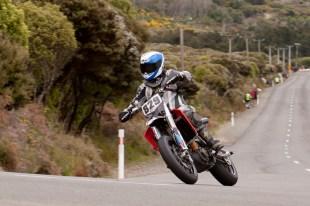 Aprilia SXV 550, Barry Summers, Bluff HIll Climb, Burt Munro Challenge, Flagstaff Road, Motupohue, New Zealand, NZ Hill Climb Champs, Open Class, Rider 829