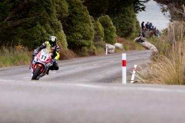 Bluff HIll Climb, Burt Munro Challenge, Flagstaff Road, Honda CBR 1000, Motupohue, New Zealand, NZ Hill Climb Champs, Open Class, Rider 11, Tony Rees
