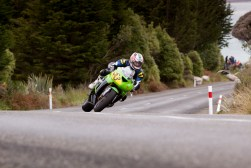 Bluff HIll Climb, Burt Munro Challenge, Flagstaff Road, Kawasaki ZX6RR 600, Mike Sullivan, Motupohue, New Zealand, NZ Hill Climb Champs, Open Class, Rider 53