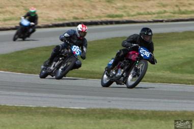 Bruce Aitken, Burt Munro Challenge, Classic Pre '63 with Girder Forks, KTT MK IV 350, Neville Mickleson, Rider 95, Rider 238, Teretonga Circuit races, Triumph T80 350, Velocette
