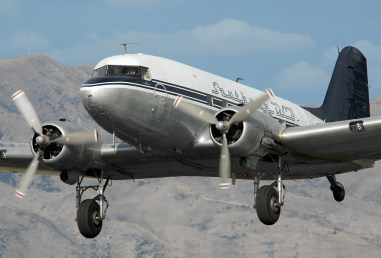 Southern DC3 ZK-AMY. George Canciani.