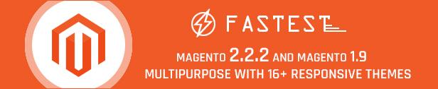 Codazon Fastest - Multipurpose 16 homes,  Magento 2 & 1.9