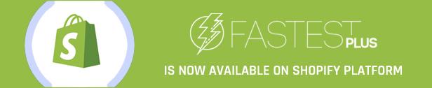 Codazon Fastest Plus Shopify  - Multipurpose 16 homes,  Shopify