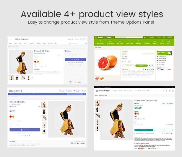 Infinit - Magento 2 & 1.9 Product View Styles