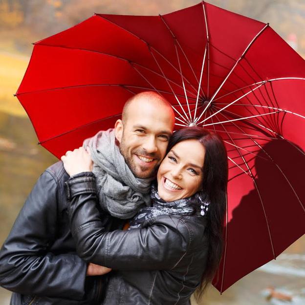 Personalisierbarer Herziger Schirm