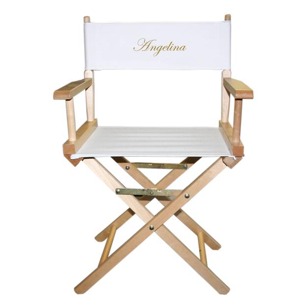 chaise realisateur cinema personnalisable