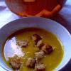 kuerbissuppe mit zaatar croutons