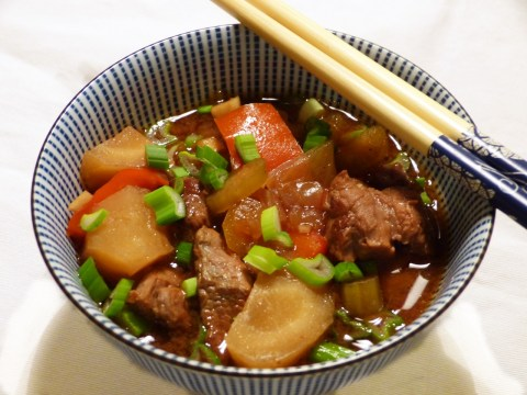 crockpot asian beef stew