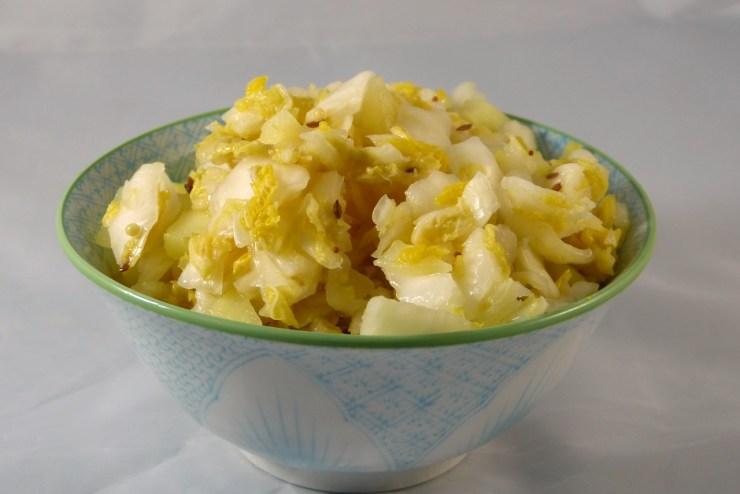 apfel-kümmel-sauerkraut
