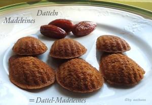 Dattel-Madeleines