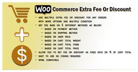 Woocommerce Extra Fee