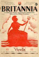 Mussolini writes for the right-wing Britannia magazine in 1927
