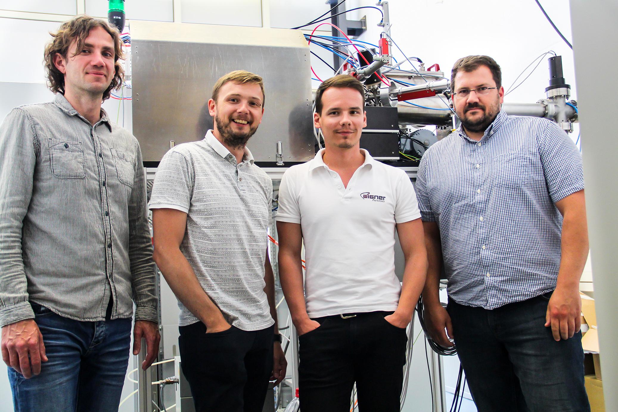 A Wigner fusion csapata és a német sztellarátor