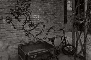 Graffiti and Cart