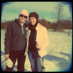 Mom and I at the lookout point