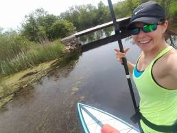 Tiny bridge ahead! Duck for cover!