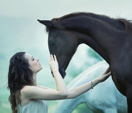 woman:horse copy