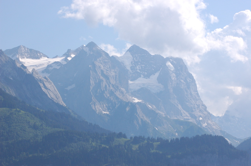 Mountains Across from Reuti