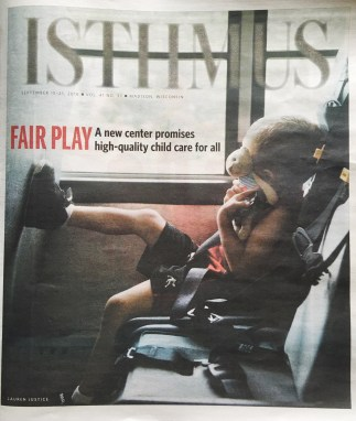 The Playing Field early childcare center Isthmus cover story