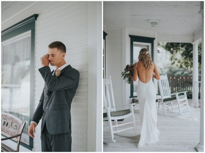 first look boise wedding photographer fourth street gardens