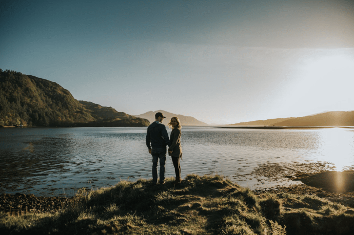 Isle of Skye Engagement Photos