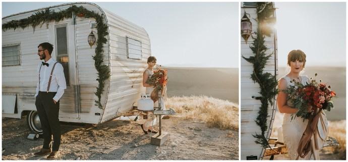 PNW camper elopement
