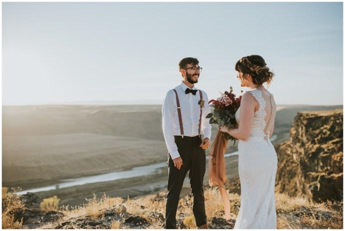 Swan Falls Idaho Elopement