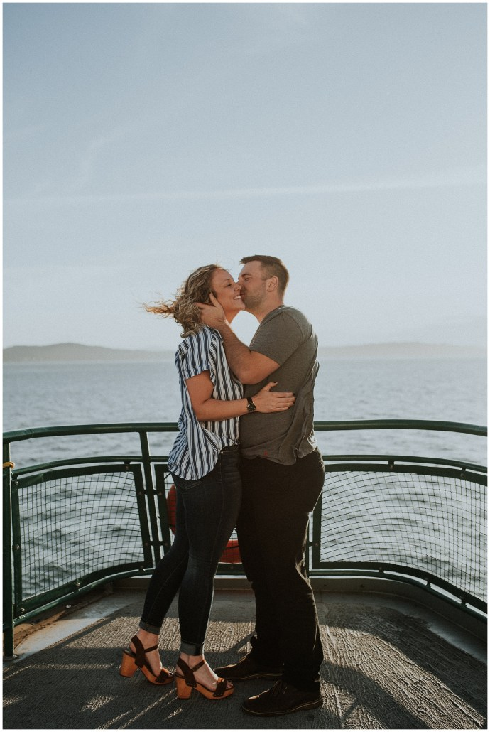 Ferry Engagement Session