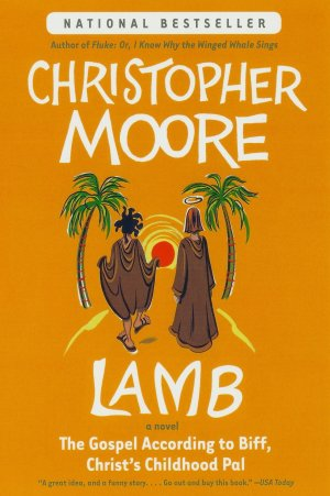 Lamb, by Christopher Moore, cover