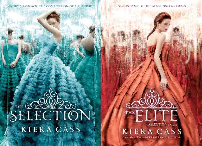 """Book Covers for """"The Selection"""" and """"The Elite"""""""
