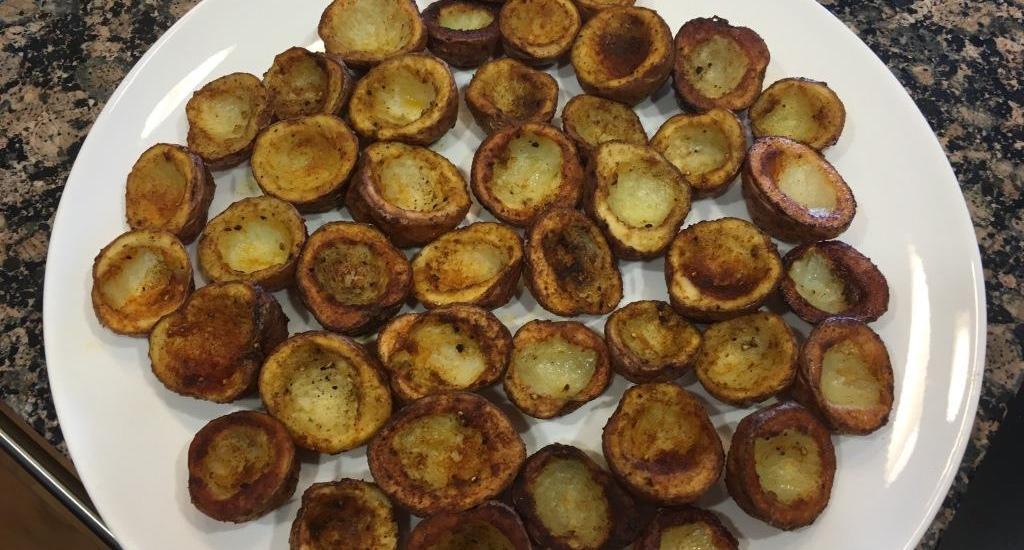 roasted potato cups
