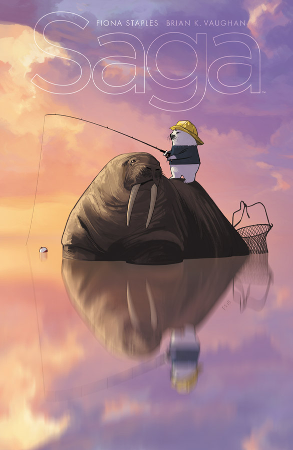 Saga Issue 34 Cover