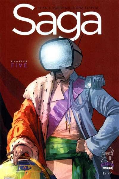Saga Issue 5 Cover