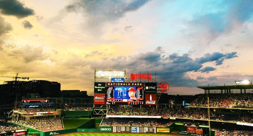 Rain Soaked Sunset at Nats Park