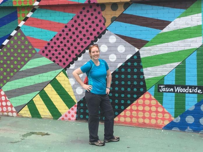 Rosslyn blogger wall