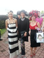 Maggie Loo with Kate Tsui Tze Shan, Hong Kong Starlet, and Amee Philips, Founder of Amee Philips Jewellery Sdn Bhd
