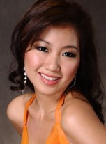 FOONG YUH WEN, 1st Runner-Up Miss Malaysia Earth 2010