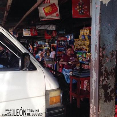 El terminal de León Nicaragua